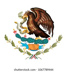 picture about Mexican Flag Eagle Printable named Mexican Eagle Shots, Inventory Photographs Vectors Shutterstock