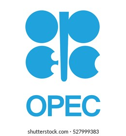 Emblem of OPEC (Organization of the Petroleum Exporting Countries). Vector