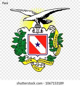 Emblem of Para, state of Brazil