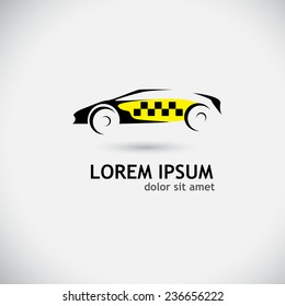 emblem taxi. logo. Vector