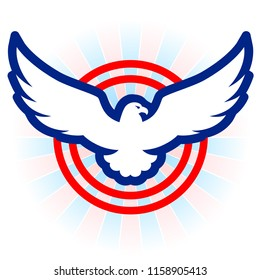 american eagle images stock photos vectors shutterstock rh shutterstock com american eagle logos clip art american eagle logistics houma la