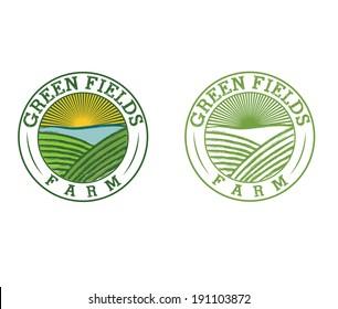 emblems of green field farm