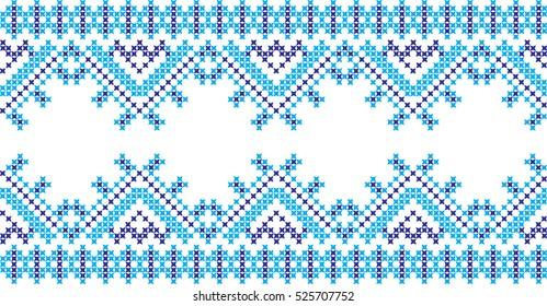 Cross Stitch Pattern Images Stock Photos Vectors Shutterstock