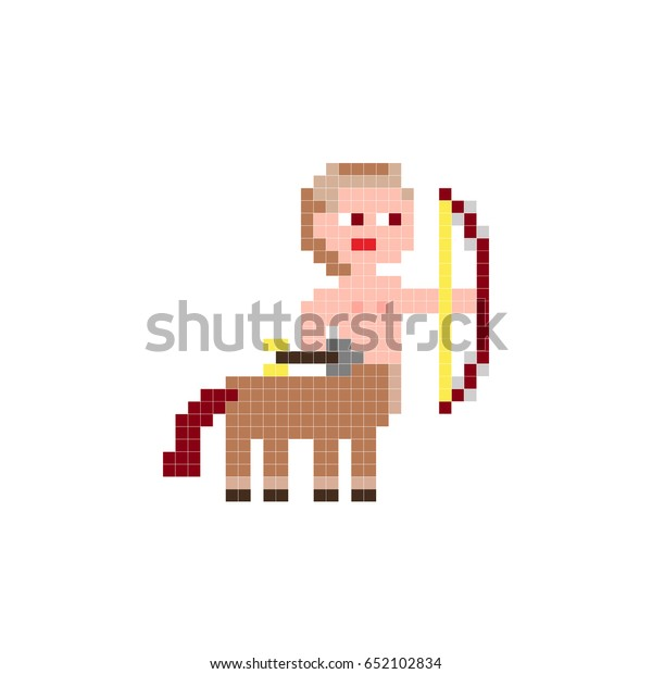 Embroidery Cubes Kids Funny Fairytale Character Stock Vector