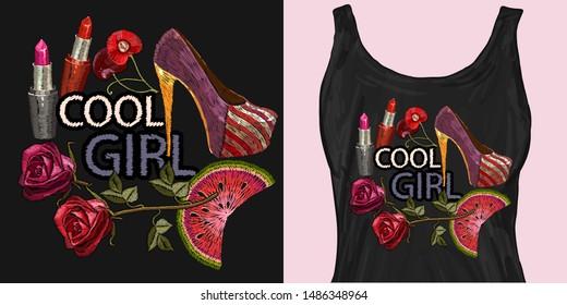 Ilustraciones Imágenes Y Vectores De Stock Sobre Cool Girl