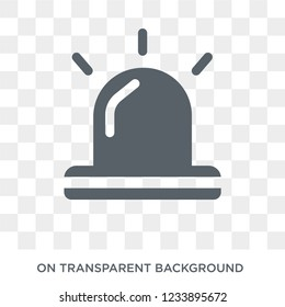 Emergency icon. Trendy flat vector Emergency icon on transparent background from Health and Medical collection.