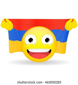 Similar Images, Stock Photos & Vectors of Emoji fan holds in