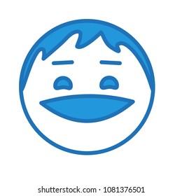 Smirking Emoji Stock Vectors Images Vector Art Shutterstock