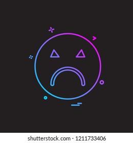 Emoji icons design vector