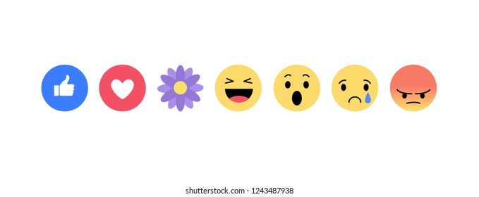 Emoji icons vector illustration