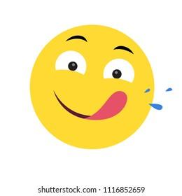 Emoji Mmm Mmm Good