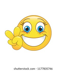 Cartoon Happy Face Images, Stock Photos & Vectors ...