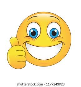 smileys daumen hoch