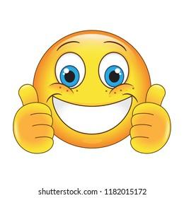 Cartoon Happy Face Images, Stock Photos & Vectors | Shutterstock