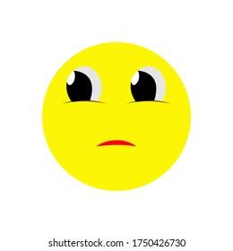 emoticon expression icon vector illustration