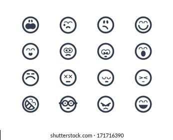 Emoticon icons