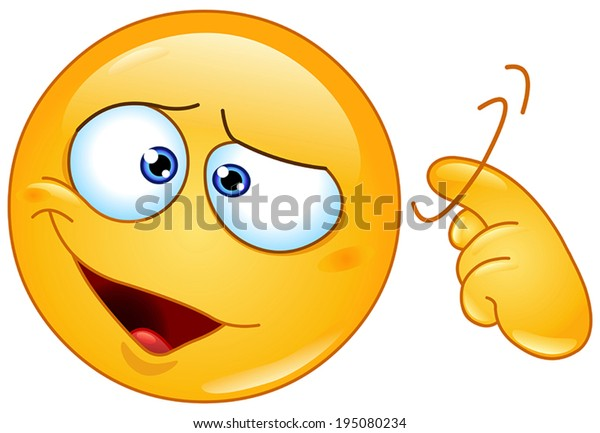 Emoticon showing a screw loose sign by twisting his finger into temple. You are crazy.