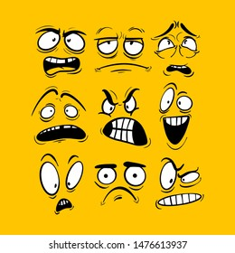 Cartoon Face Images, Stock Photos & Vectors | Shutterstock