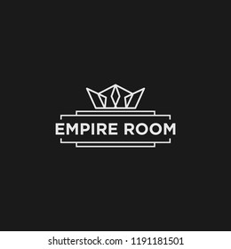empire room logo design