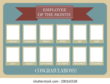 employee of the month images stock photos vectors shutterstock