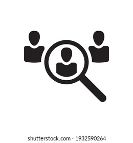 Employee search icon find people