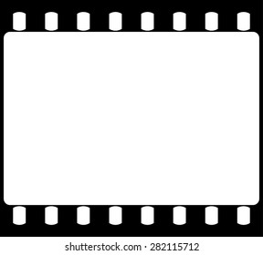 Empty 35 mm film strip backgrounds