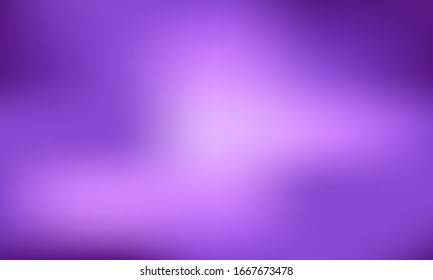 Empty, abstract purple background with gradient that goes from dark to light. Backdrop is empty with copy space for text, logo and all uses. Great for displays, promotions and sales.
