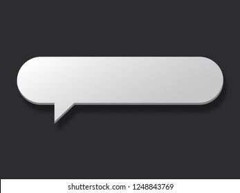 Empty Chat communication conversation icon