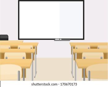 Empty classroom/ Classroom