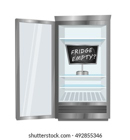Fridge Frost Stock Vectors Images Amp Vector Art Shutterstock