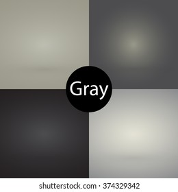 Empty gradient background