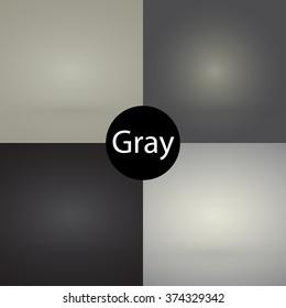 Empty gradient background