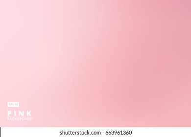 empty gradient pastels pink studio room background, template business backdrop, Vector Illustration,