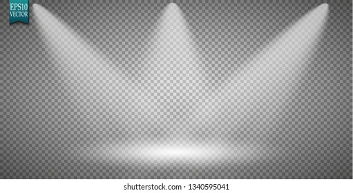 Empty light interior for your creative project. Vector illustration