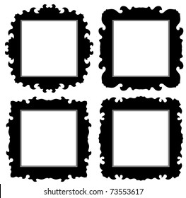 Gothic Picture Frame Images Stock Photos Vectors Shutterstock