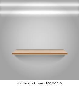 Empty Shelf neon lamps