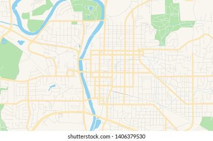 graphic about Printable Map of Iowa identified as Ilustraciones, imágenes y vectores de inventory sobre Iowa Street