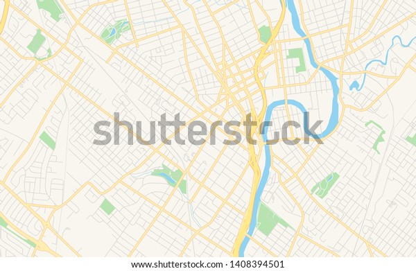 photograph regarding Printable Map of New Jersey referred to as Vacant Vector Map Paic Fresh Jersey Inventory Vector (Royalty