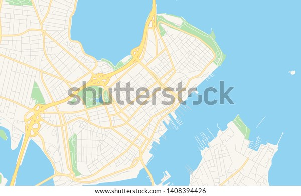 map of portland maine and surrounding areas Empty Vector Map Portland Maine Usa Stock Vector Royalty Free map of portland maine and surrounding areas