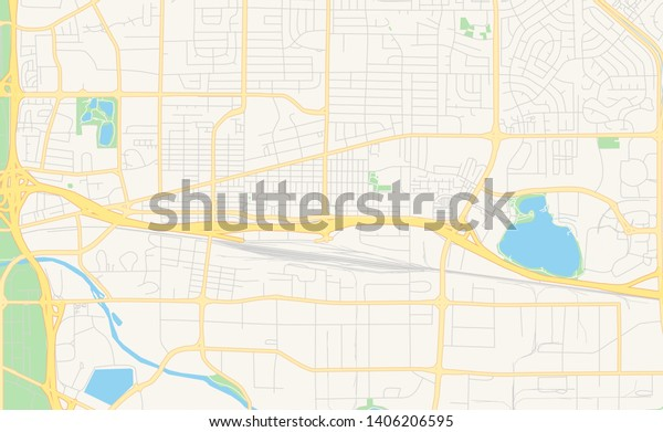 map of sparks nevada Empty Vector Map Sparks Nevada Usa Stock Vector Royalty Free map of sparks nevada