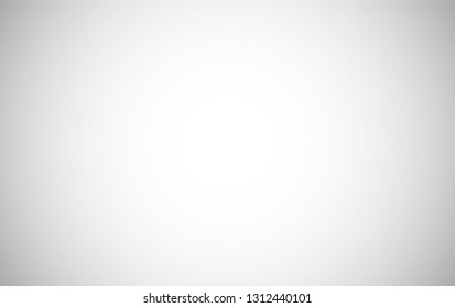 Empty white grey gradient abstract background