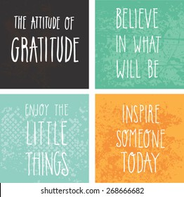 Encouraging and inspirational quote vector design