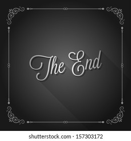 the end sign movie ending frame
