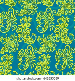 Endless abstract pattern. Background texture.  Vector illustration.