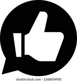 Endorse Recommend Approve Vector Icon