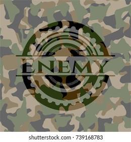Enemy camouflaged emblem