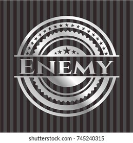 Enemy silvery emblem