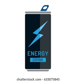 Generic Energy Drink Can