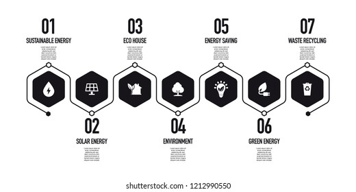 ENERGY AND ECO INFOGRAPHIC CONCEPT