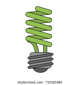 energy saving lightbulb icon image